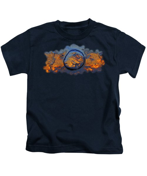 Sunset Rings Kids T-Shirt