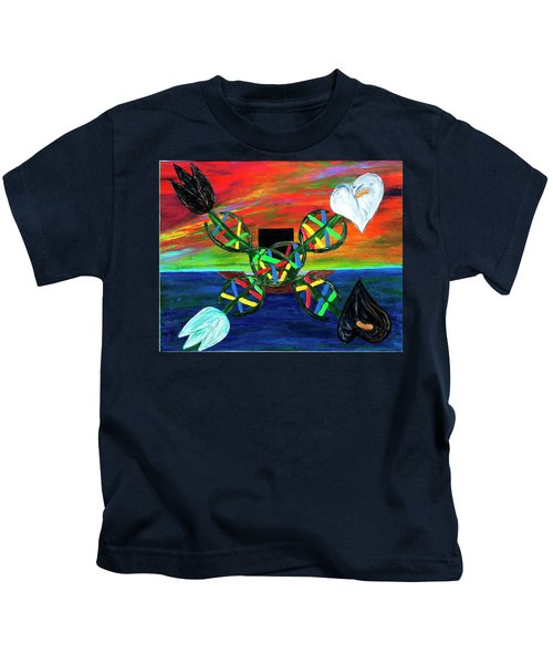 Sunseth In Atlantis Kids T-Shirt
