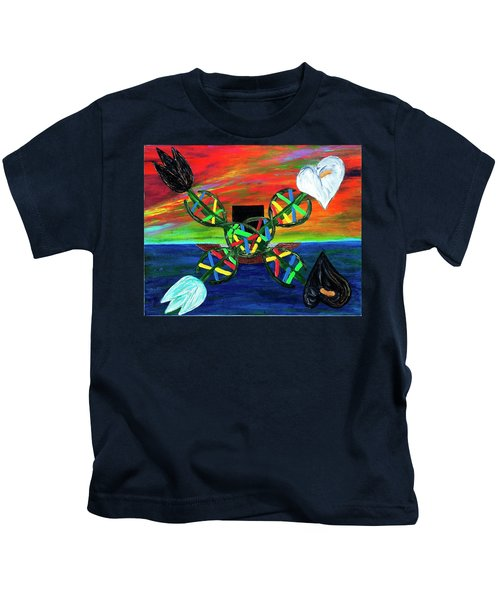 Sunseth In Atlantis Kids T-Shirt