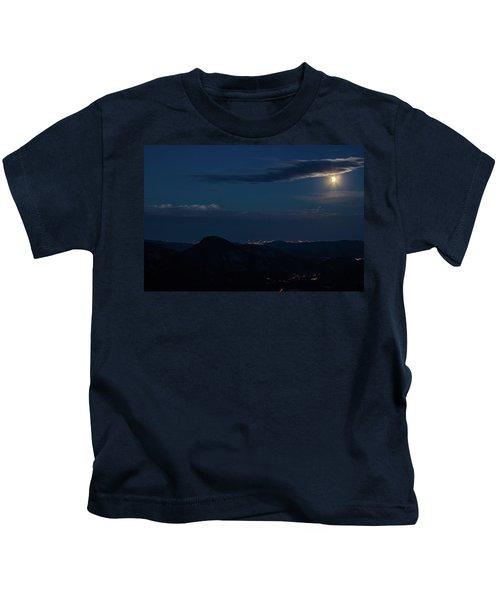 Super Moon Eclipse Kids T-Shirt