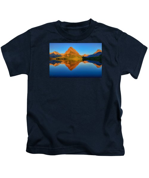Swiftcurrent Morning Reflections Kids T-Shirt