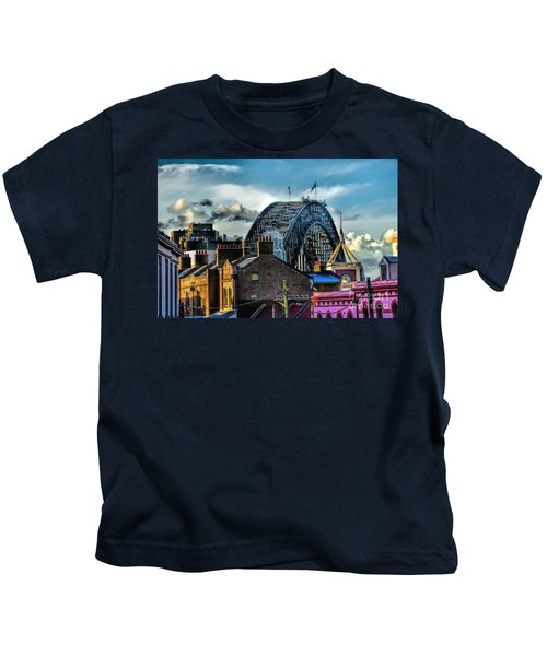 Sydney Harbor Bridge Kids T-Shirt