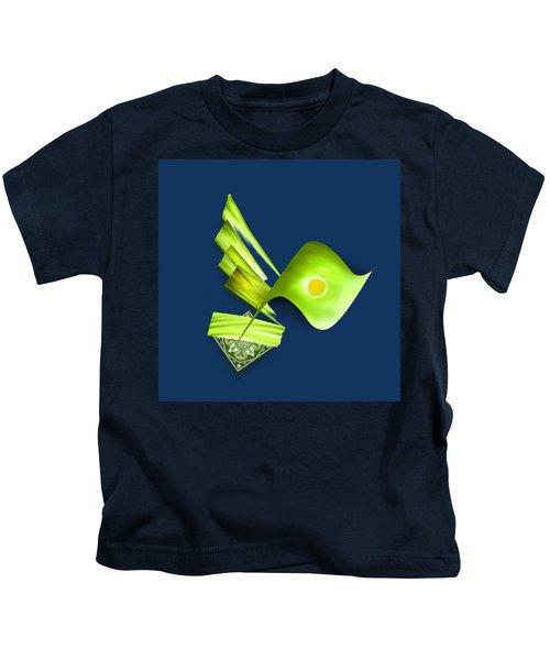 Tcm Calligraphy 42 3 Al Malik Kids T-Shirt