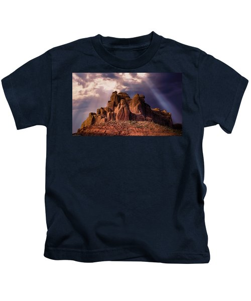 Temple Of Red Stone Kids T-Shirt