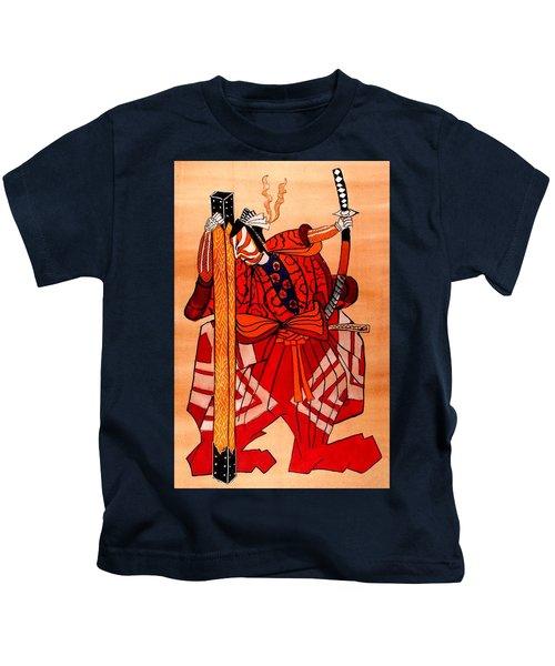 The Age Of The Samurai 04 Kids T-Shirt