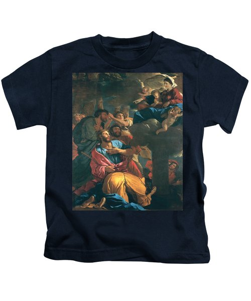 The Apparition Of The Virgin The St James The Great Kids T-Shirt
