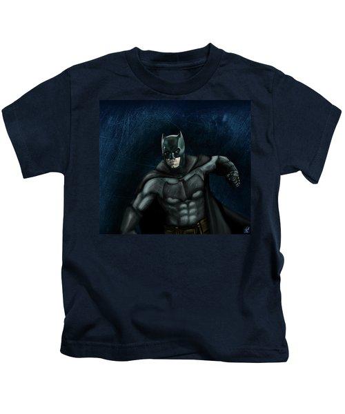 The Batman Kids T-Shirt by Vinny John Usuriello