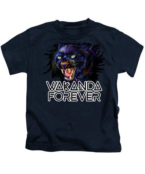 The Black Panther Kids T-Shirt