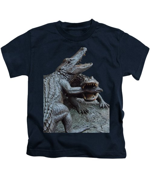 The Chomp Transparent For Customization Kids T-Shirt by D Hackett