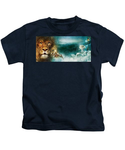 The Chronicles Of Narnia The Lion, The Witch And The Wardrobe Kids T-Shirt