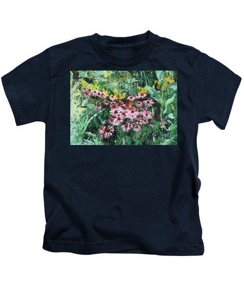 Coneflowers  Garden Kids T-Shirt