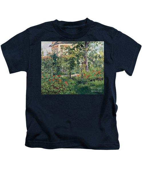 The Garden At Bellevue Kids T-Shirt