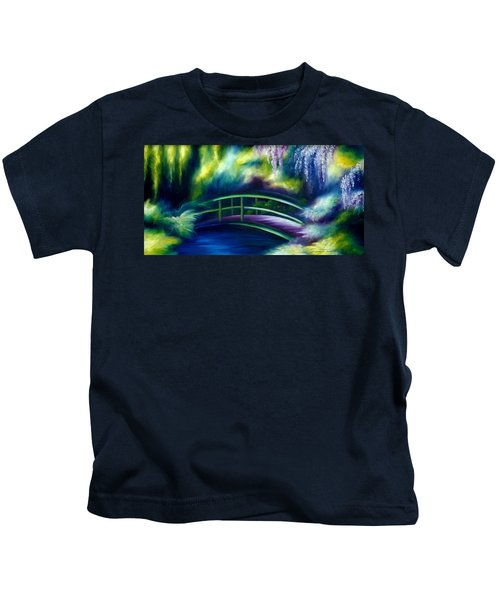 The Gardens Of Givernia Kids T-Shirt