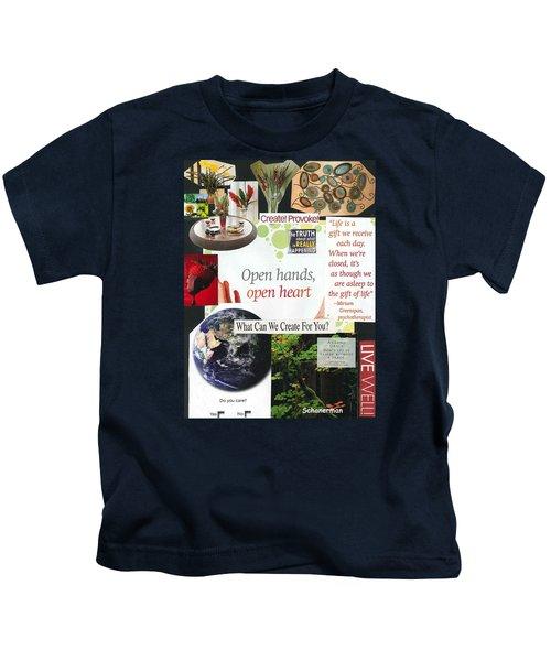 The Gift Of Creativity Kids T-Shirt