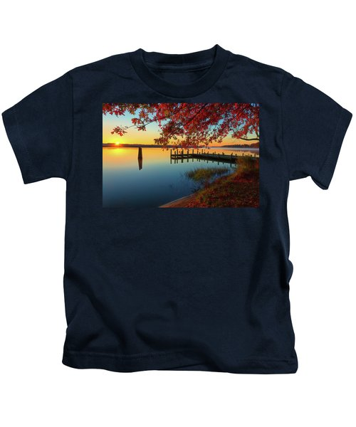 The Glassy Patuxent Kids T-Shirt