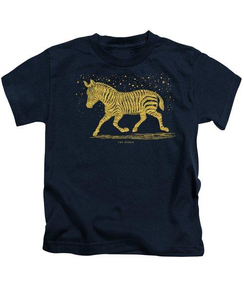 The Golden Zebra Kids T-Shirt