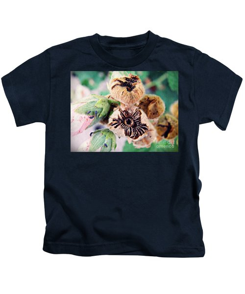 The Hollyhocks Are Gone Now 2 Kids T-Shirt