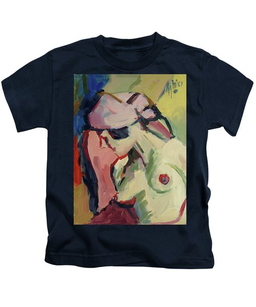 The Lady Without A Pearl Kids T-Shirt