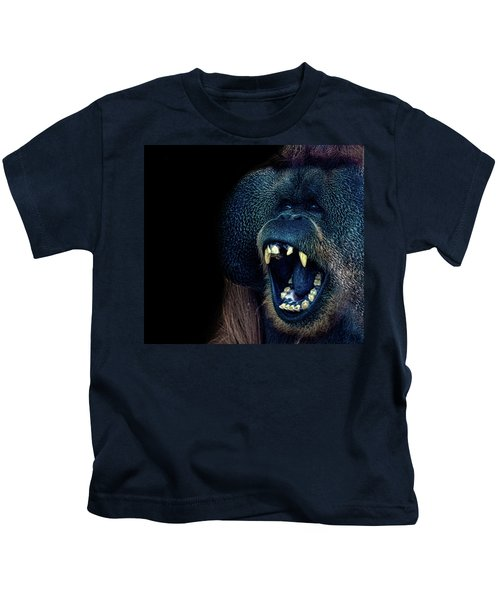 The Laughing Orangutan Kids T-Shirt