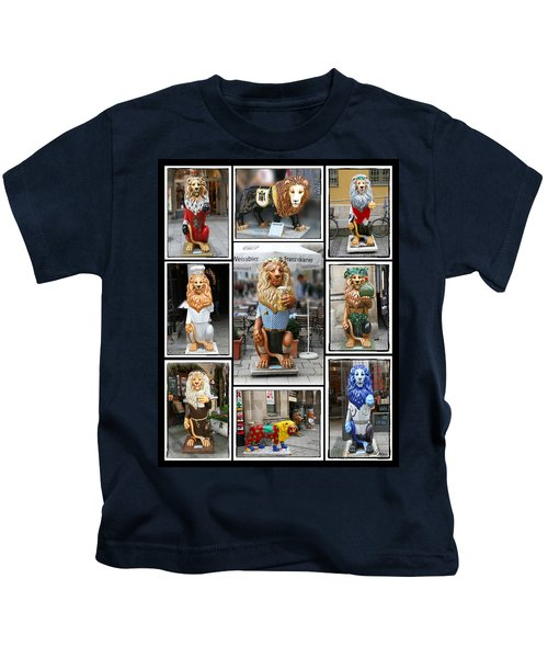 The Lions Of Munich Kids T-Shirt
