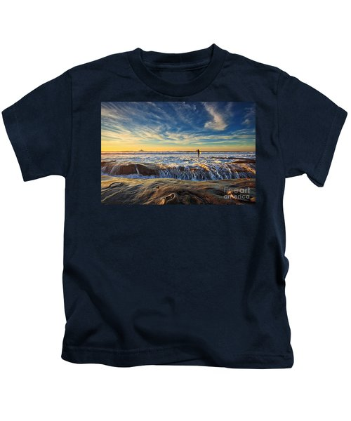 The Lone Surfer Kids T-Shirt