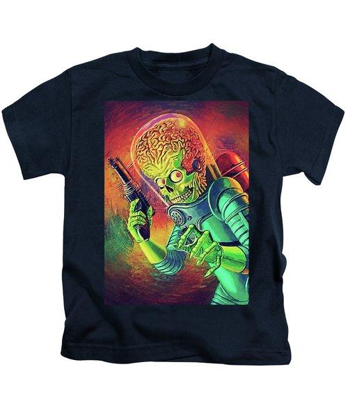 The Martian - Mars Attacks Kids T-Shirt