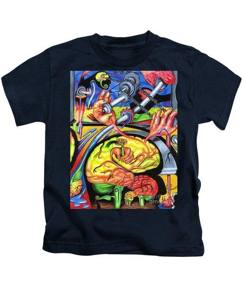 The Mechanics Of Consciousness Kids T-Shirt