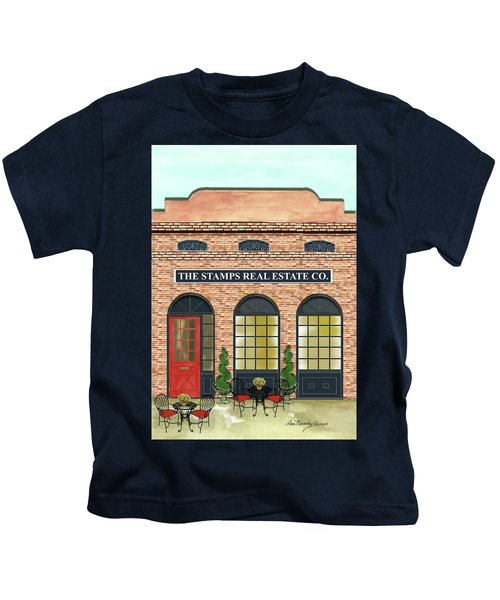 The Stamps Real Estate Co. Kids T-Shirt