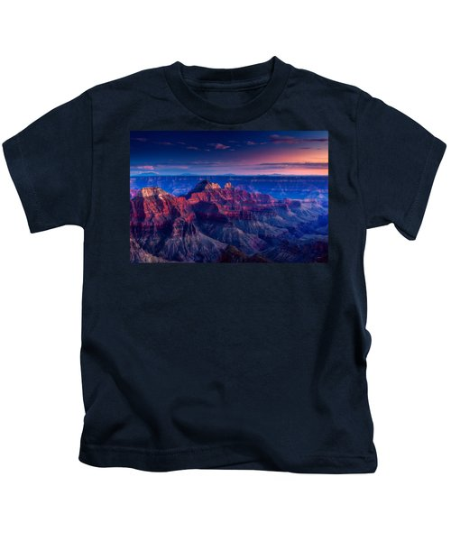 The Temples And Bright Angel Canyon Kids T-Shirt