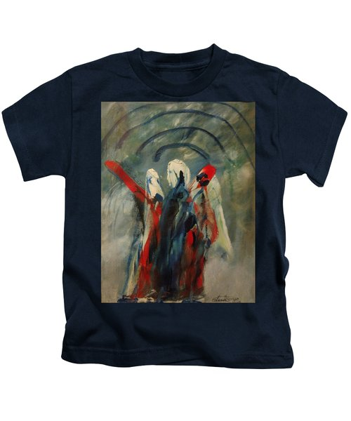 The Three Kings Of Christmas Kids T-Shirt