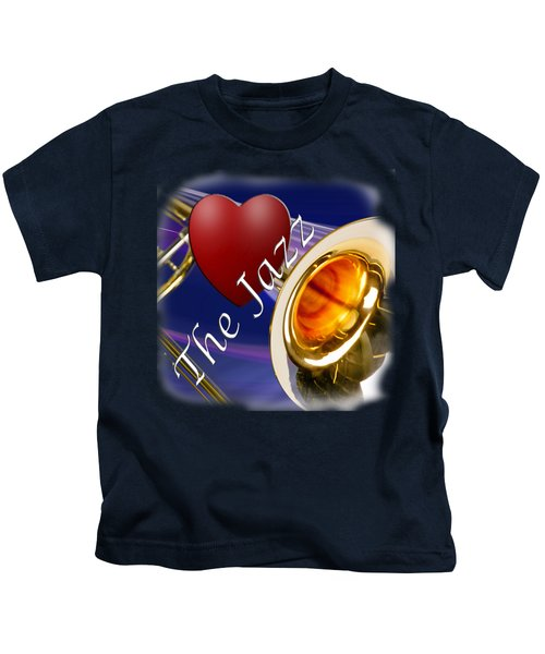 The Trombone Jazz 002 Kids T-Shirt