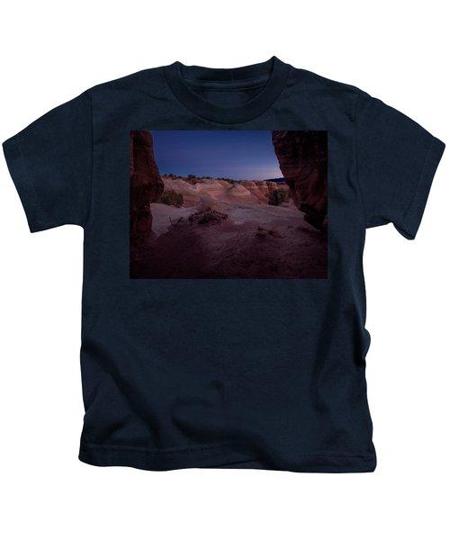 The Window In Desert Kids T-Shirt