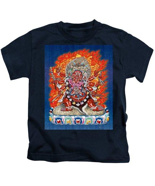 Tibetan Thangka Remake - Hayagriva Kids T-Shirt