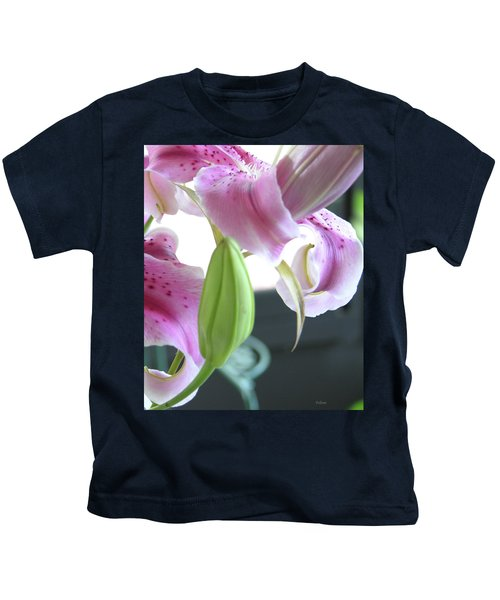 Tiger Lily Bud Kids T-Shirt