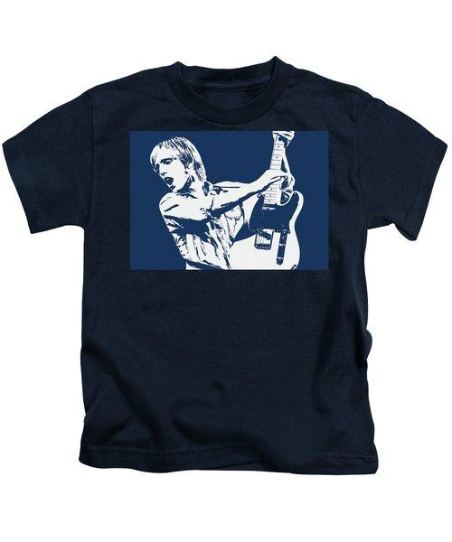 Tom Petty - Portrait 02 Kids T-Shirt