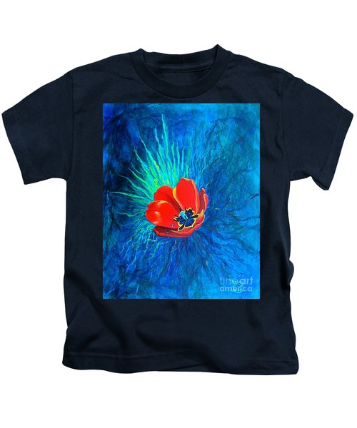 Touched By His Light Kids T-Shirt