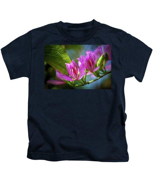 Tropical Line Dance Kids T-Shirt