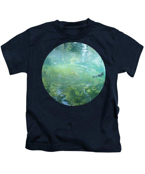 Trout Pond Kids T-Shirt