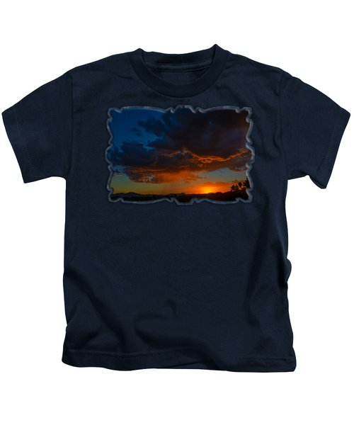Tucson Sunset H59 Kids T-Shirt