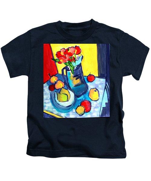 Tulip Still Life Kids T-Shirt