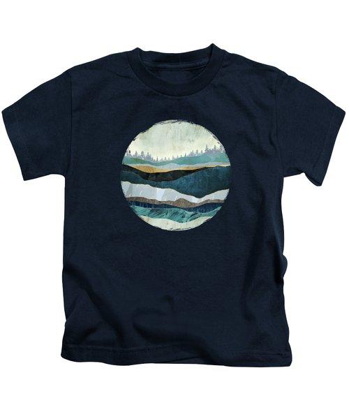 Turquoise Hills Kids T-Shirt