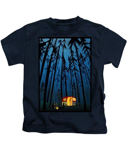 Twilight Camping Kids T-Shirt
