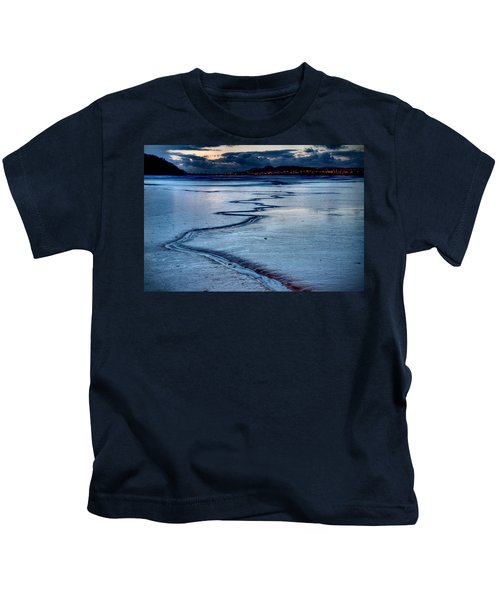 Twilight, Conwy Estuary Kids T-Shirt