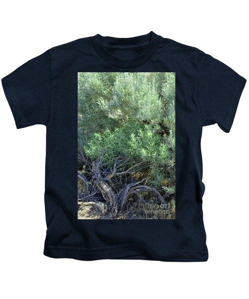 Twisted Wild Brush  Kids T-Shirt