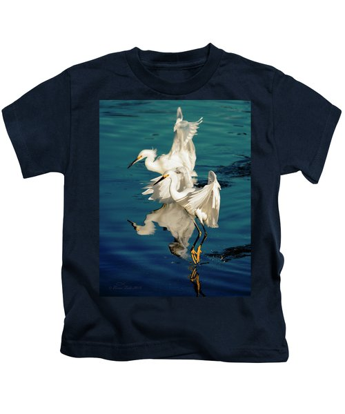 Two In Tandem Kids T-Shirt