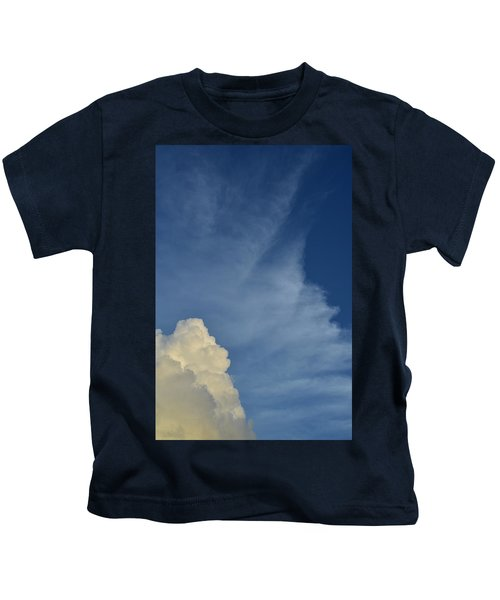 Two Tone Clouds 9384 Kids T-Shirt