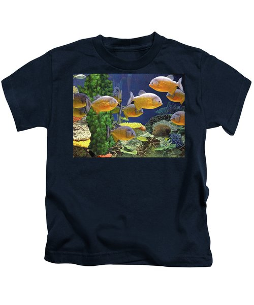 Under The Seen World 5 Kids T-Shirt