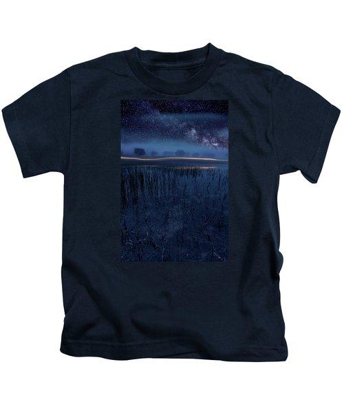 Under The Shadows Kids T-Shirt