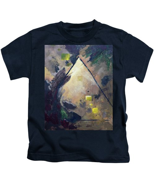 Untitled Abstract 730-17 Kids T-Shirt