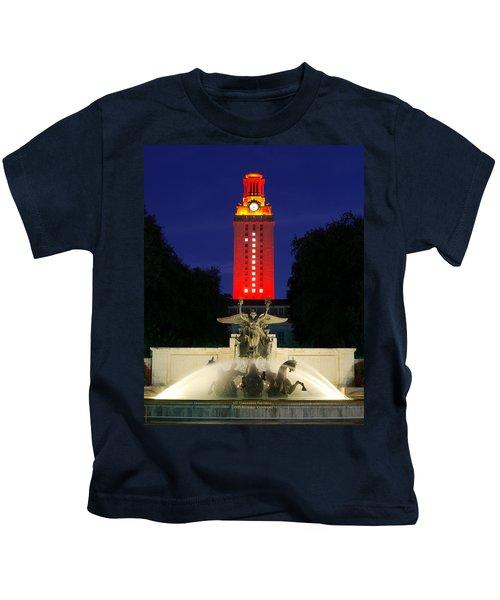 57d2973d58d University Of Texas Tower Kids T-Shirts